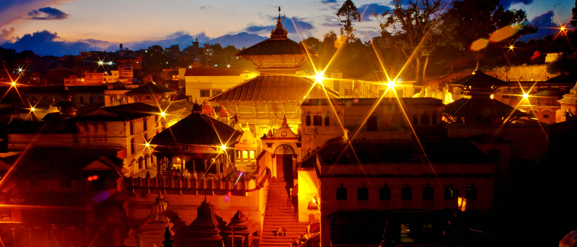 Holy Pashupatinath Temple - Shivaratri night