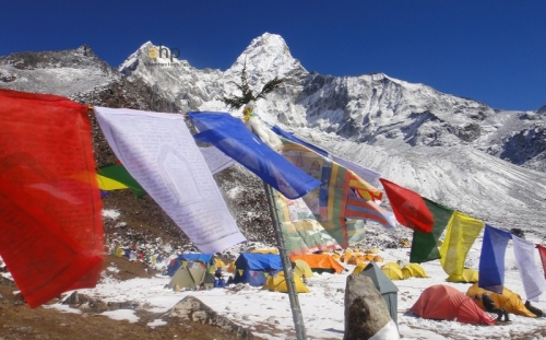 Everest base camp and Amadablam basecamp Trekking