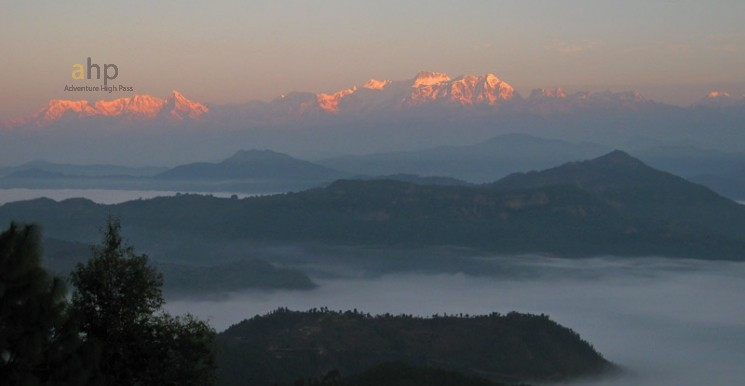 Panoramic View from bandipur, nepal