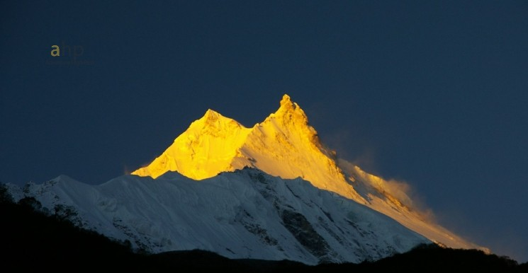Sunset View of Mt. Manaslu