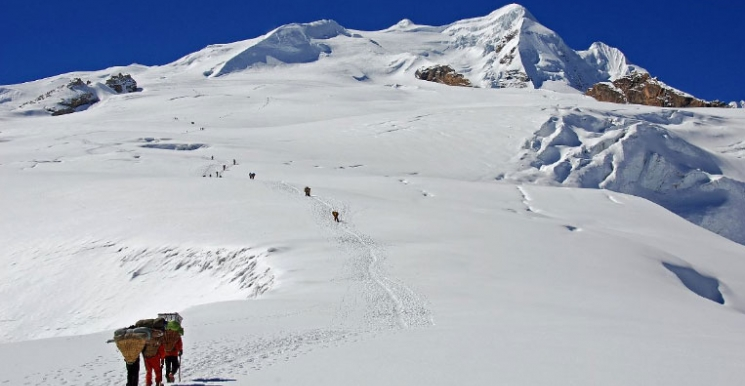 Mera peak climbing - the highest trekking peak in Nepal- 6476 meters