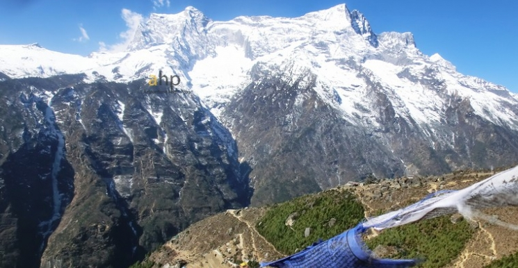 View from Namche, Everest region