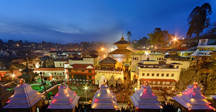 Maha Shivaratri festival in nepal and pashupatinath temple