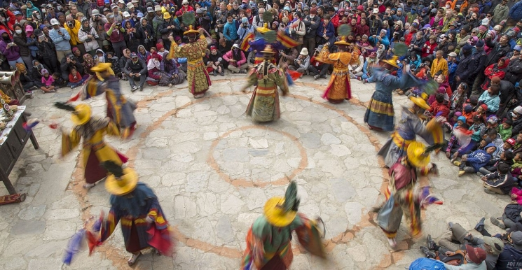 Tiji (tenji) Festival 2017 Let's celebrate together on 23, 24, 25 May 2017 ( Upper Mustang )