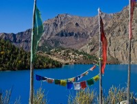 Phoksundo lake in Dolpa trekking