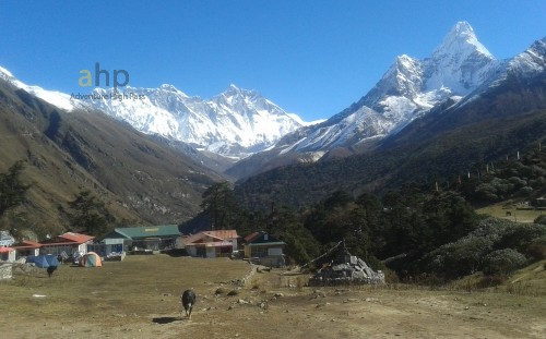 Everest base camp trekking and Lobuche climbing